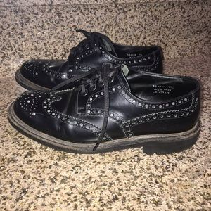 Prada itshide commando style wingtip oxford shoes